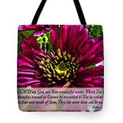 Your Wonderful Works Tote Bag