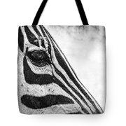 You've Got Zebra Eyes Tote Bag
