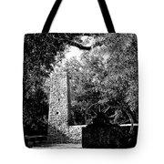 Yulee Sugarmill 2  Black And White Tote Bag