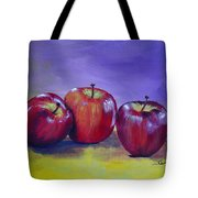 Yummy Apples Tote Bag