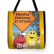 Yummy M And M's Tote Bag