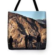 Zabriske Sunrise Watchers Tote Bag