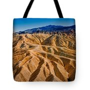 Zabriskie Point Badlands Tote Bag