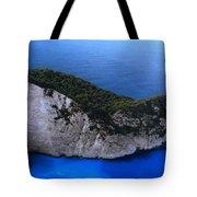 Zakynthos  Crocodile Island Greece Tote Bag