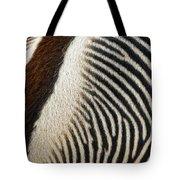 Zebra Caboose Tote Bag