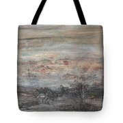 Zebra Flight Tote Bag