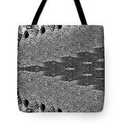Zebra Half-circle Tote Bag