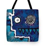 Zeeko - Blue And Aqua Tote Bag