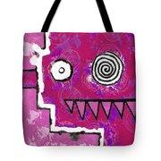 Zeeko - Pink Tote Bag