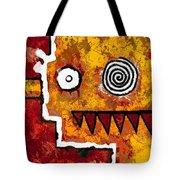 Zeeko - Red And Yellow Tote Bag