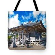 Zen Garden At A Sunny Morning Tote Bag