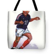 Zinedine Zidane 01 Tote Bag