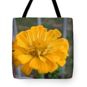 Zinnia Named After Zinn Tote Bag