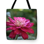 Zinnia Quenched Tote Bag