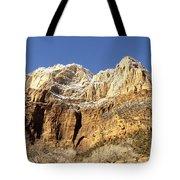 Zion Cliffs Tote Bag