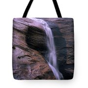 Zion Summer Waterfall Tote Bag