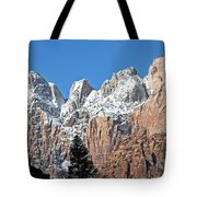 Zion Towers Tote Bag