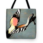 Zippy Zebra Slings Tote Bag