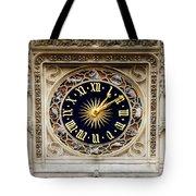 Zodiac Clock Tote Bag
