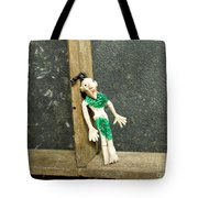 Zombie At The Window Tote Bag