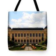 Zoology Building Paris Tote Bag