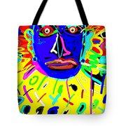 Zulu Yellow- Turquoise Tote Bag