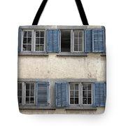 Zurich Window Shutters Tote Bag