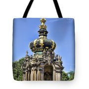 Zwinger Palace Crown Gate Tote Bag