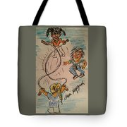 A Child's Play Time Tote Bag
