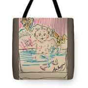 Bathing Time Tote Bag
