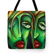 ' Twins ' Tote Bag
