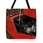1961 Morgan Plus 4 Drophead Coupe Tote Bag