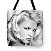 # 3 Jessica Simpson Portrait Tote Bag