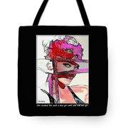 # 39 Charlize Theron Portrait Tote Bag