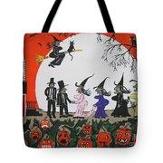 A Halloween Wedding Tote Bag