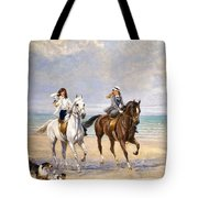 A Ride By The Sea Tote Bag