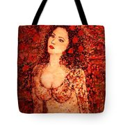 A Romantic Moment Tote Bag