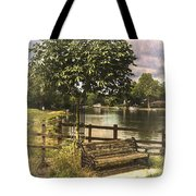 A Seat By The Thames Tote Bag
