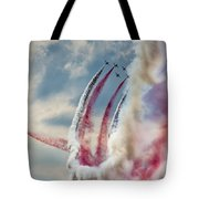 Aerobatic Group Formation  Tote Bag
