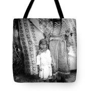 American Indian Woman Female Daughter 1890s Tote Bag