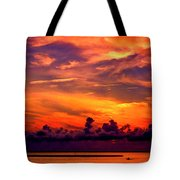 ... And As The Sun Sets On Another Beautiful Day Tote Bag