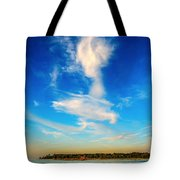 Angel  Walking On Air  Tote Bag