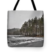 April Snow 3 Tote Bag