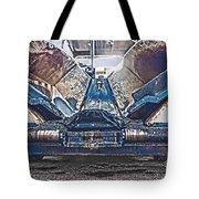 Asphalt Paver Tote Bag