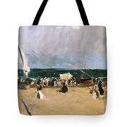 At The Beach Valencia Tote Bag