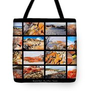 ' Australia Rocks ' - Bay Of Fires - Tasmania Tote Bag