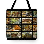 ' Australia Rocks ' - The Dripping Gorge - New South Wales Tote Bag