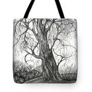 Autumn Dancing Tree Tote Bag