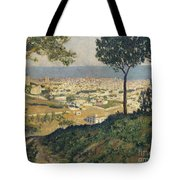 Barcelona Seen From Vallvidrera Tote Bag