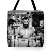 Three Barmen Tote Bag